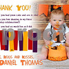 Thank You Note- Baby Daniel :