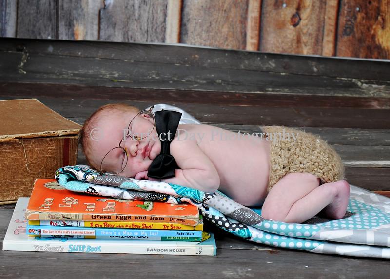 Baby Ayden newborn session