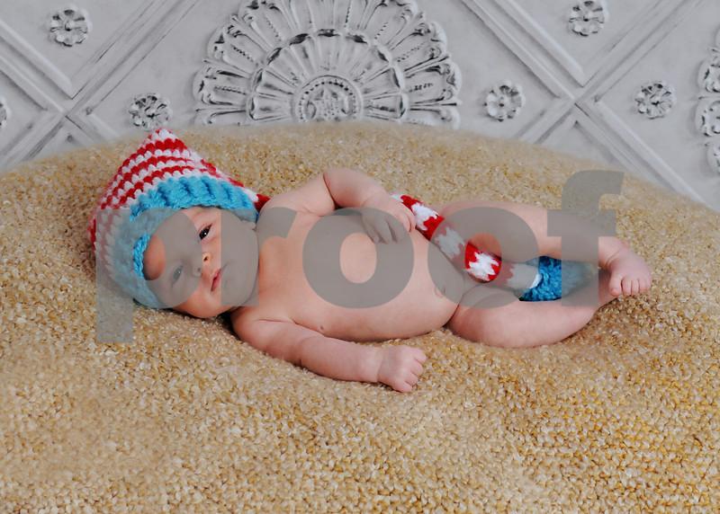 Baby Lucas newborn session